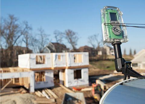 Vaše sledování stavby