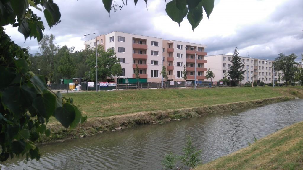 Zateplení novostavby bytového domu ul. Dřevnická, Zlín